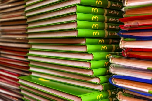 english books book stack