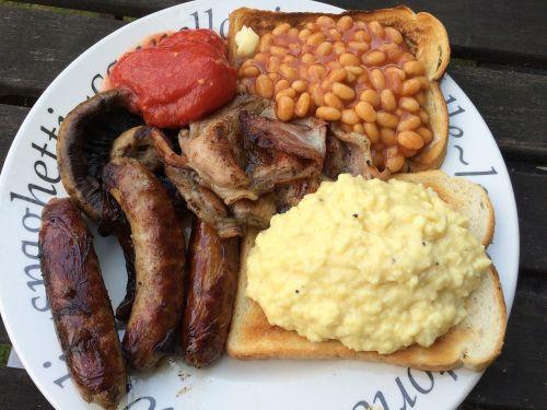 english breakfast breakfast tomato