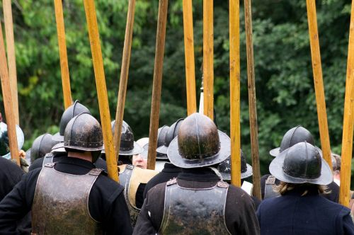 english civil war pikes ancient battle