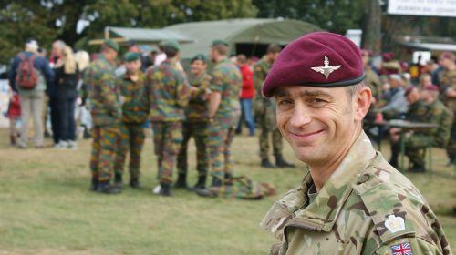 english soldier laugh tough