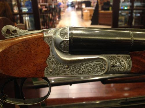 engraved winchester antique