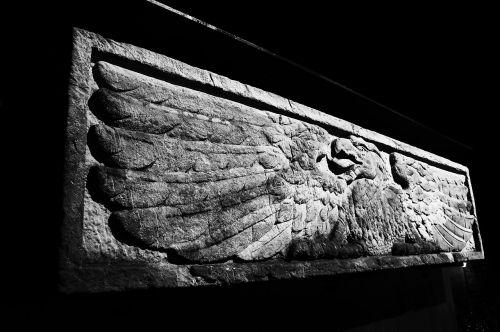 engraved stone black
