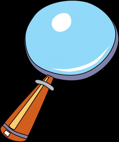 enlarge glass magnifying