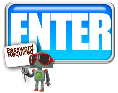 enter sign password