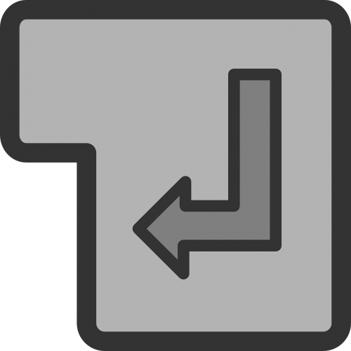 enter key symbol