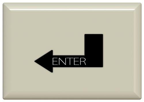 enter key button calculator