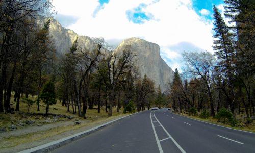 Entering Yosemite