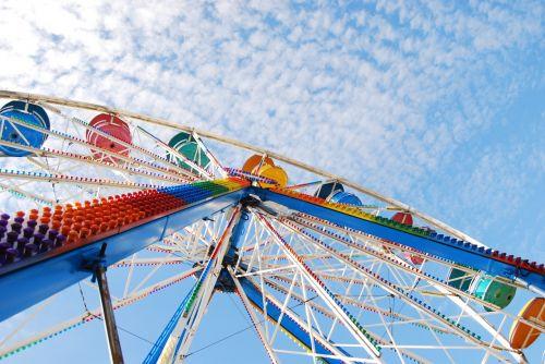 entertainment carousel sky
