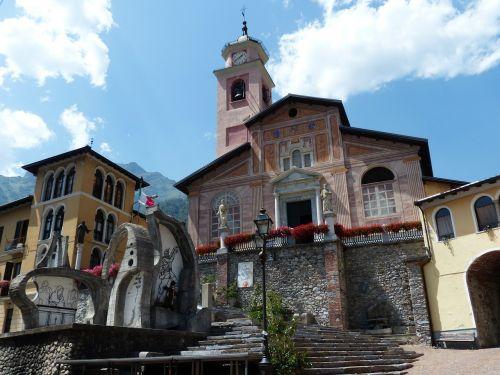 entracque parish church san antonino martire