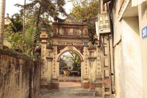 entrance viet nam neighborhood