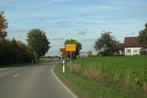 entrance town sign steinberg
