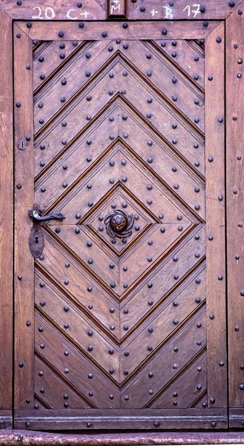 entrance door old old door