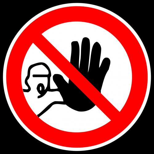entree interdiction entry