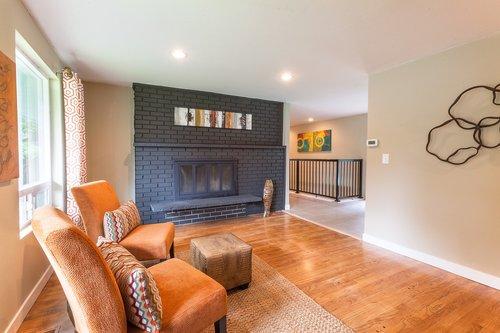 entry  den  fireplace