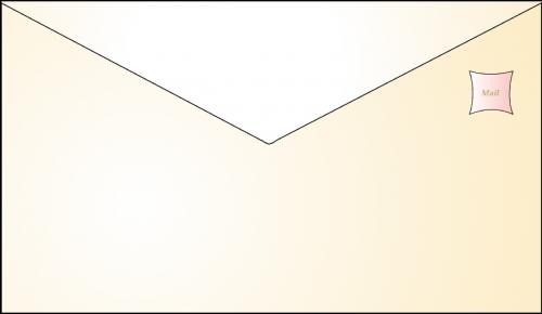 envelope e-mail letter