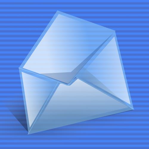 envelope open computer