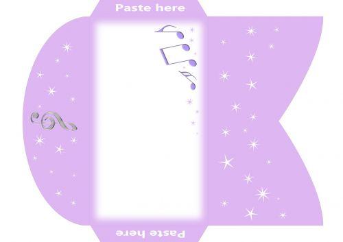envelope g-clef note