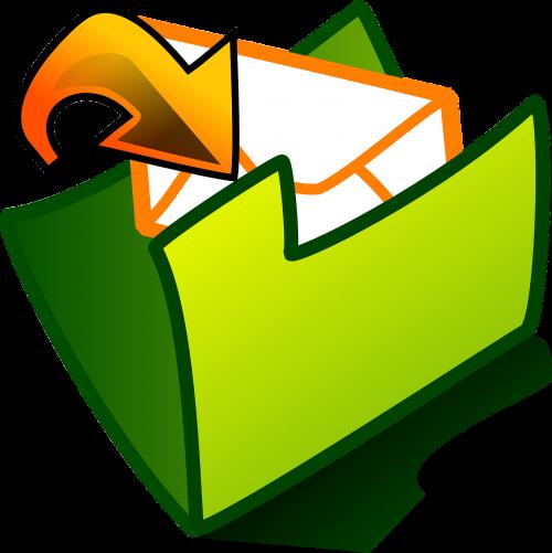 envelope mail folder