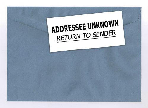 envelope letters leave