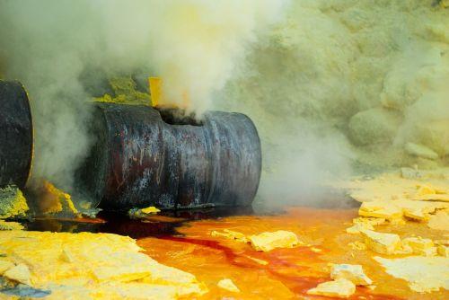 pollution environment sulfur
