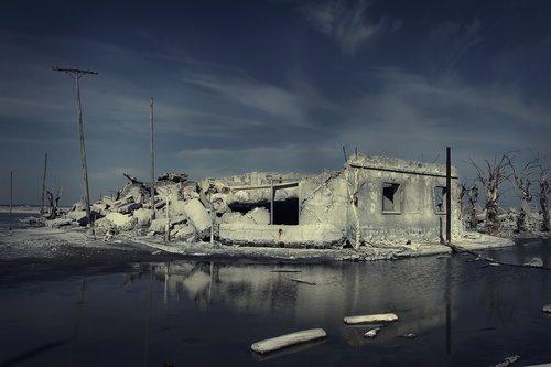 epecuén  ruins  flood