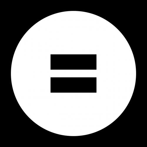 equal math symbol