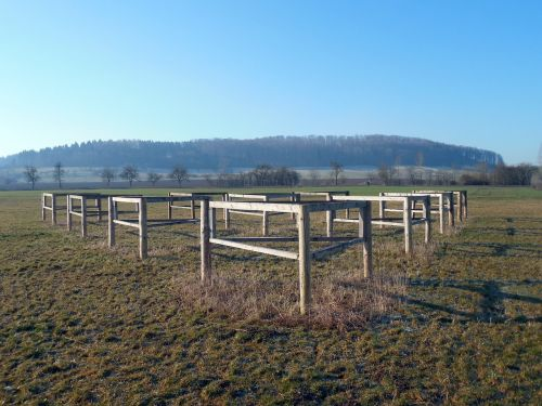 equestrian obstacle hurdle