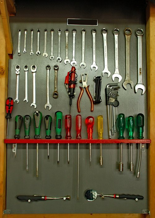 equipment  tools  screwdriver