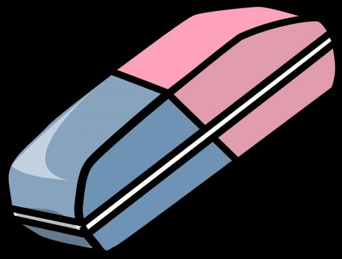 eraser school supplies