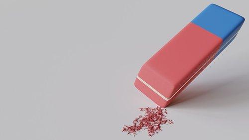 eraser  abrasion  stationery