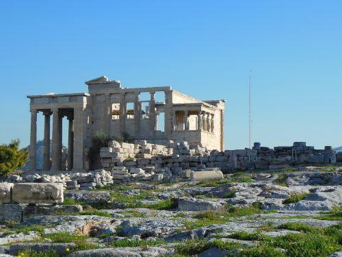 erection acropolis athens