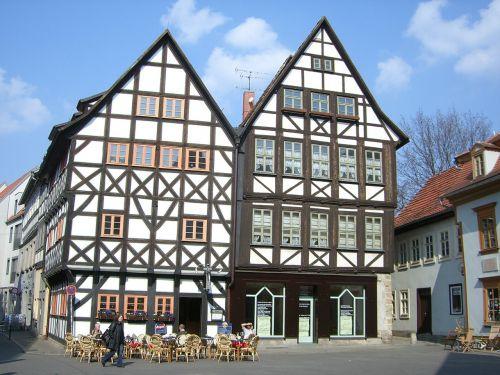 erfurt fachwerkhäuser building