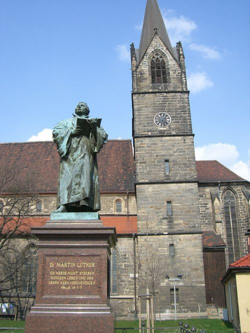 erfurt martin luther monument