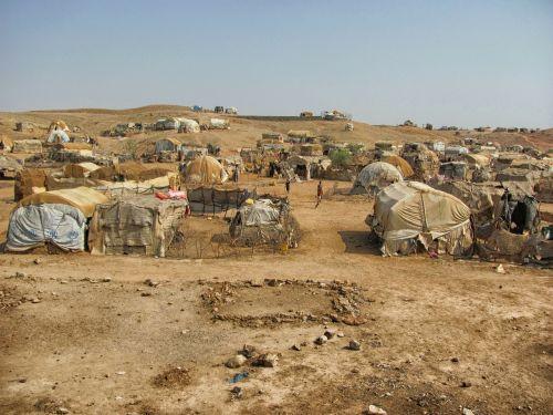 eritrea landscape tents