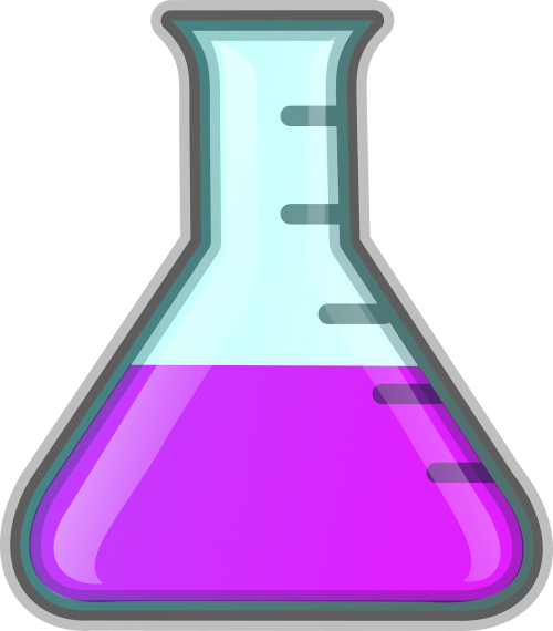 erlenmeyer flask conical flask laboratory