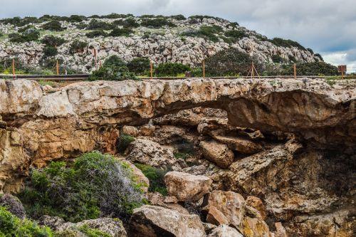 erosion cliff landscape
