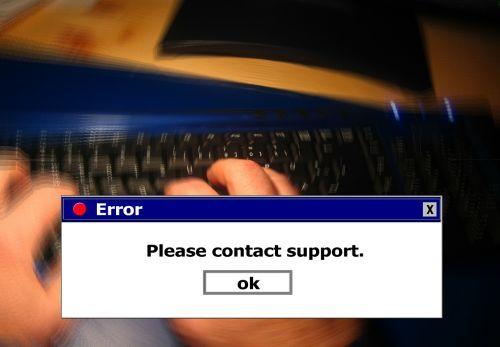 error www keyboard