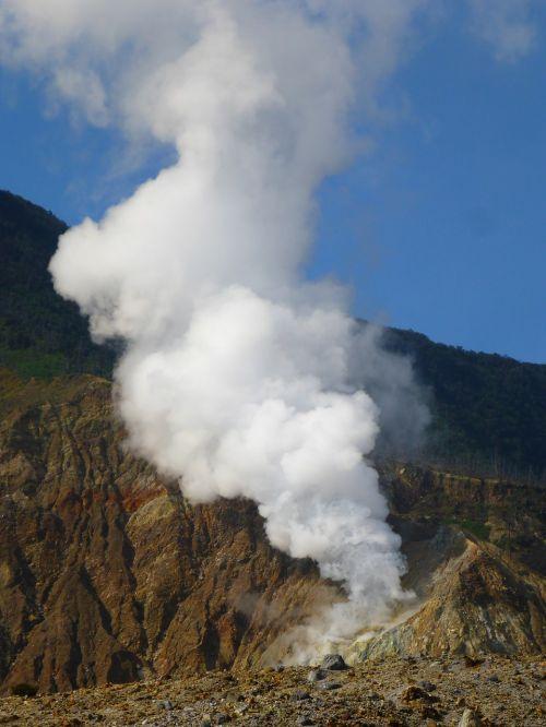 eruption indonesia nature
