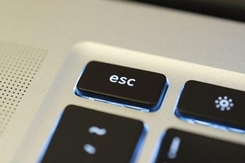 esc escape key
