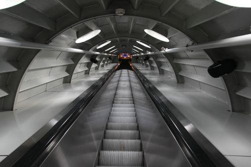 escalator atomium brussels