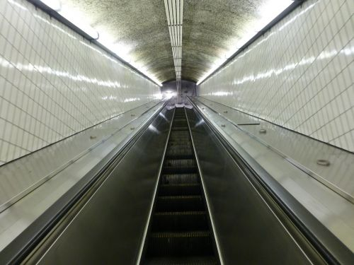 escalator mbta boston