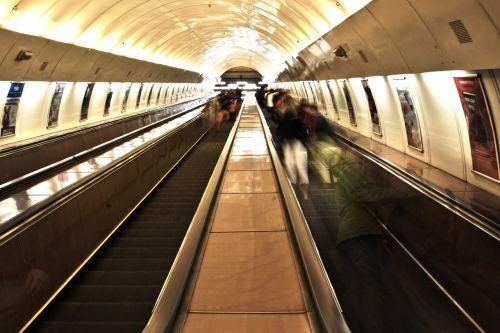 escalator urban moving staircase