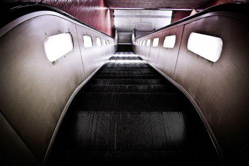 escalator metro climbing aid