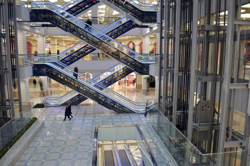 escalators tts shopping