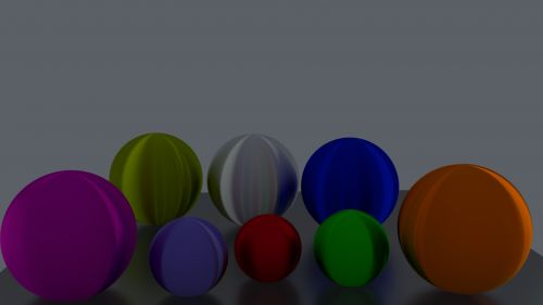 Balls In Dithered