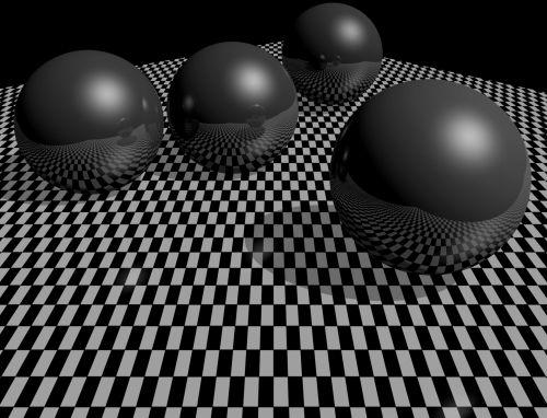 Monochrome Balls