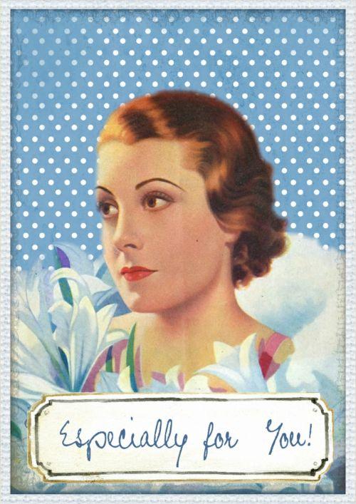 Especially For You Vintage Card