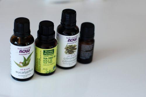 essential oils bottle