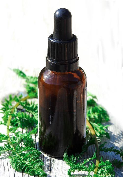 essential oils bottle glass