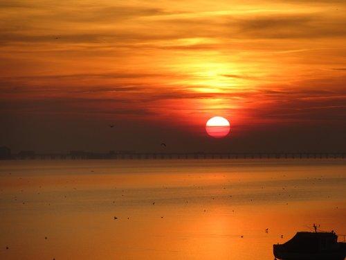 essex  evenings  sunset